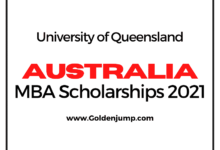 Photo of Australia MBA International Student Scholarship 2021/22 – University of Queensland