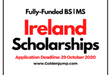 Photo of Government of Ireland Fully-Funded Postgraduate Scholarships 2021 for International Students