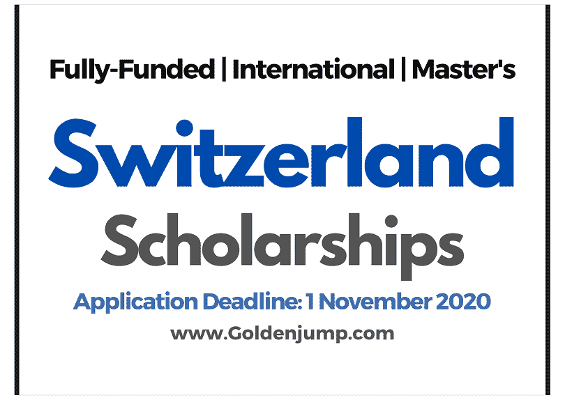 Switzerland Masters Scholarships for International Students 2021, University of Lausanne
