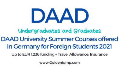 Photo of DAAD University Summer Courses Scholarships in Germany 2021-2022 | Undergraduate and Graduates