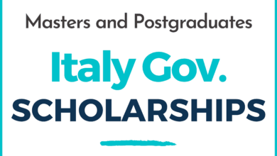 Photo of Italy Government Scholarships | Academic Year 2021-2022 | Master and Postgraduate