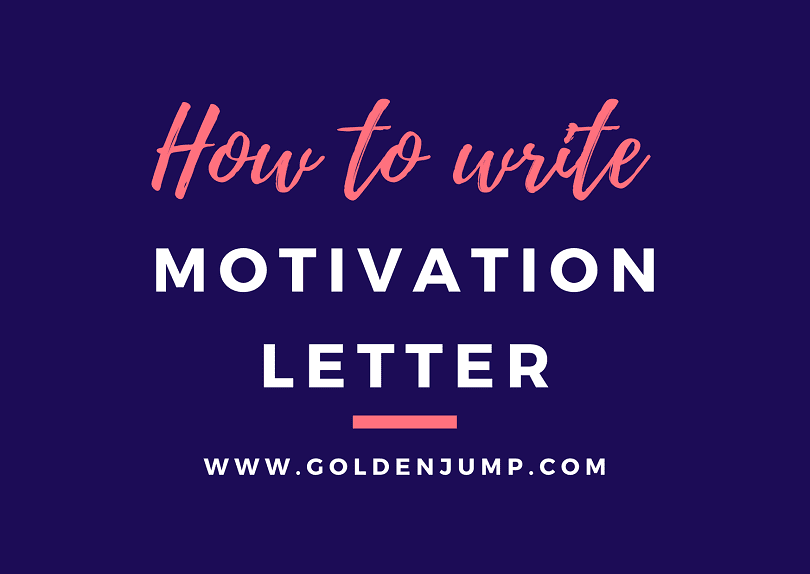 HOW TO WRITE AN EFFECTIVE MOTIVATION LETTER FOR SCHOLARSHIP/JOB (with example)