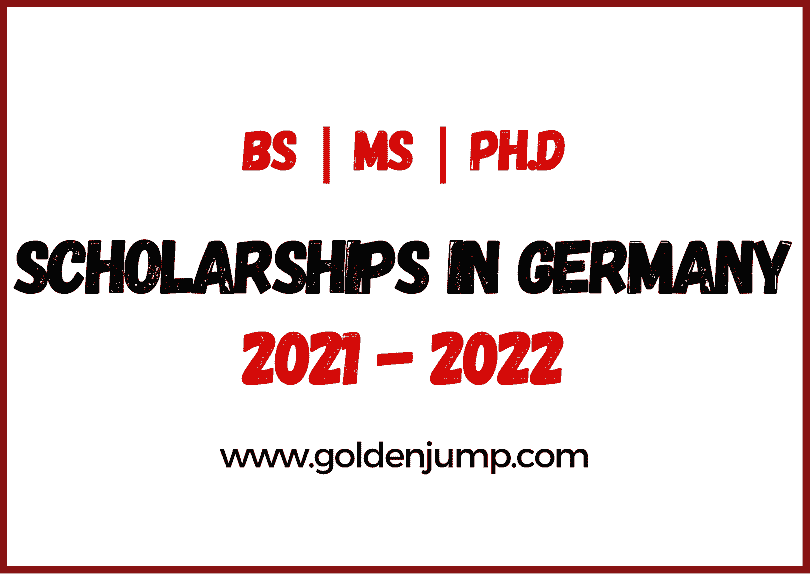 International Scholarships in Germany 2021-2022 BS-MS-Ph.D